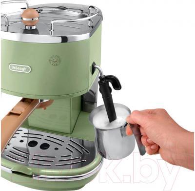 Кофеварка эспрессо DeLonghi ECOV 310.GR - каппучинатор