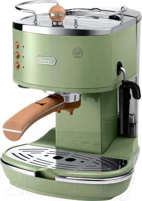 Кофеварка эспрессо DeLonghi ECOV 310.GR - общий вид