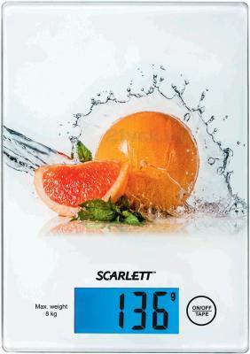 Кухонные весы Scarlett SC-1217 (Grapefruit) - общий вид