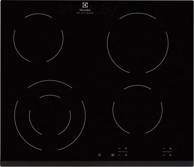 Электрическая варочная панель Electrolux EHF96241FK - общий вид