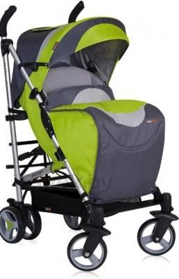 Детская прогулочная коляска EasyGo Loop (оранжевый) - чехол для ног