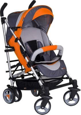 Детская прогулочная коляска EasyGo Loop (оранжевый) - общий вид