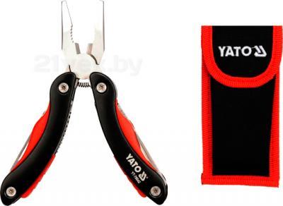 Пассатижи Yato YT-76042 - в сложенном виде с чехлом