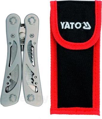 Пассатижи Yato YT-76043 - в сложенном виде с чехлом