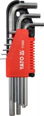 Набор однотипного инструмента Yato YT-0500 (9 предметов) - общий вид