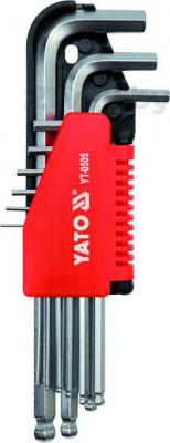 Набор однотипного инструмента Yato YT-0505 (9 предметов) - общий вид