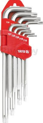 Набор однотипного инструмента Yato YT-0511 (9 предметов) - общий вид