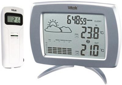 Метеостанция цифровая Vitek VT-3536 - общий вид