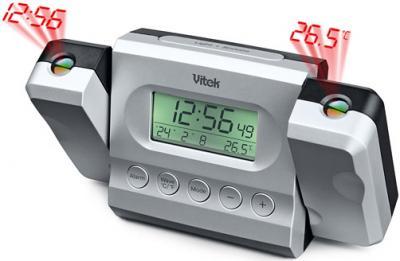 Радиочасы Vitek VT-3548 - общий вид