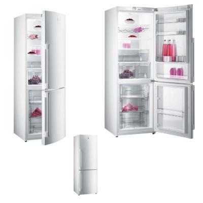 Холодильник с морозильником Gorenje RK65SYW - вид спереди