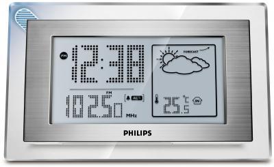 Метеостанция цифровая Philips AJ210/12 - общий вид