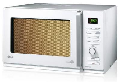 Микроволновая печь LG MH6588DRC - вид спереди