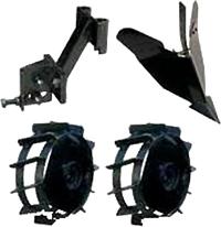 Комплект навесного оборудования MTD  (к культиватору MTD T245) - общий вид