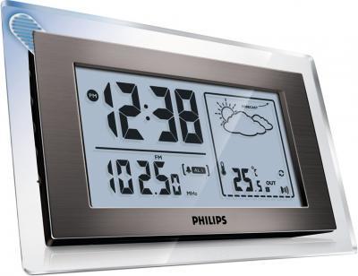 Метеостанция цифровая Philips AJ 260/12 - общий вид