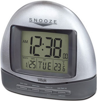 Радиочасы Vitek VT-3537 - общий вид