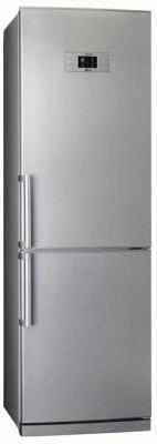 Холодильник с морозильником LG GA-B379BLQA - Вид спереди