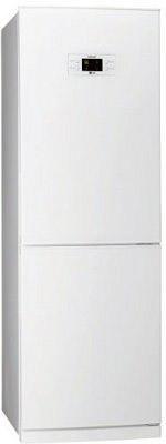 Холодильник с морозильником LG GA-B379PQA - Вид спереди