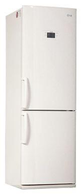 Холодильник с морозильником LG GA-B409BVQA - вид спереди