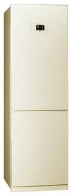 Холодильник с морозильником LG GA-B409PEQA - вид спереди