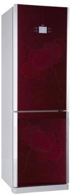 Холодильник с морозильником LG GA-B409TGAW - Вид спереди