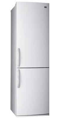 Холодильник с морозильником LG GA-B409UCA - вид спереди