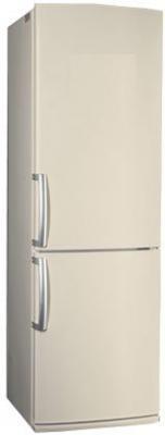 Холодильник с морозильником LG GA-B409UECA - Вид спереди