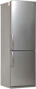 Холодильник с морозильником LG GA-B409ULCA - общий вид