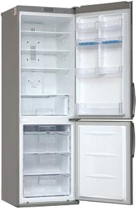 Холодильник с морозильником LG GA-B409ULCA - внутренний вид