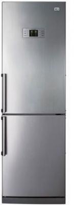 Холодильник с морозильником LG GA-B409ULQA - вид спереди