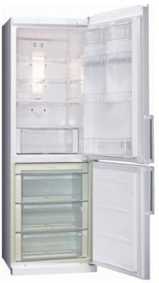 Холодильник с морозильником LG GAB409UTQA - Общий вид