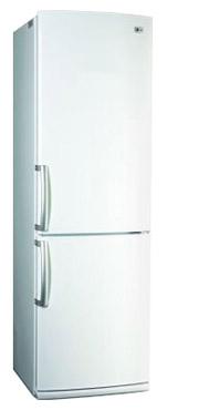 Холодильник с морозильником LG GA-B409UVCA - вид спереди