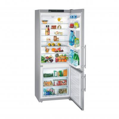 Холодильник с морозильником Liebherr CBNesf 51130 - Вид спереди