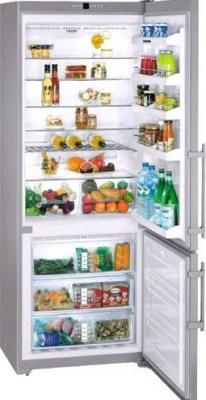 Холодильник с морозильником Liebherr CNesf 51130 - общий вид