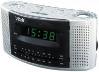 Радиочасы Vitek VT-3502 (серебристый) -