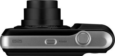 Компактный фотоаппарат Samsung ES25 Black - вид сверху