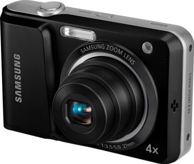 Компактный фотоаппарат Samsung ES25 Black - общий вид