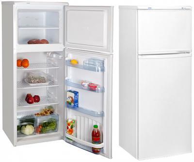 Холодильник с морозильником Nord ДХ 275-010 - внутренний вид; внешний вид