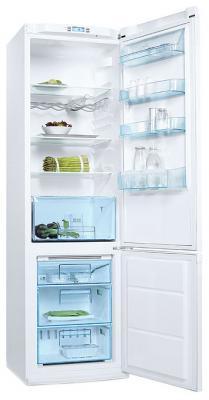 Холодильник с морозильником Electrolux ENB 38400 W - общий вид