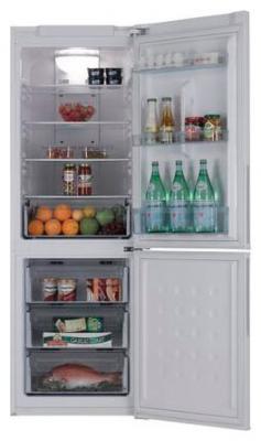 Холодильник с морозильником Samsung RL-34 ECSW - общий вид