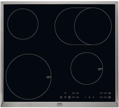 Индукционная варочная панель AEG HK 634150 XB - вид сверху