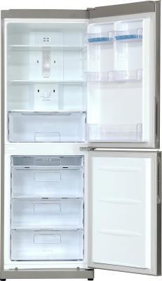 Холодильник с морозильником LG GA-B409PLQA - с открытой дверцей, вид спереди