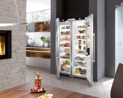 Холодильник с морозильником Liebherr SBSes 72630