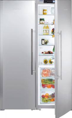 Холодильник с морозильником Liebherr SBSes 72630 - общий вид