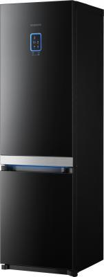 Холодильник с морозильником Samsung RL55VTEBG - вид спереди