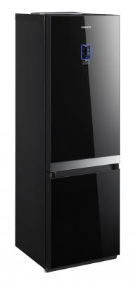 Холодильник с морозильником Samsung RL55VTEMR - общий вид