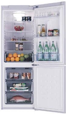 Холодильник с морозильником Samsung RL-34 SCSW - Общий вид