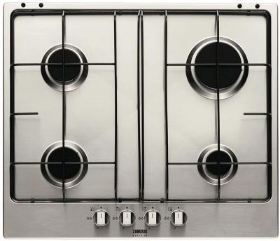 Газовая варочная панель Zanussi ZGS 645 TX - общий вид