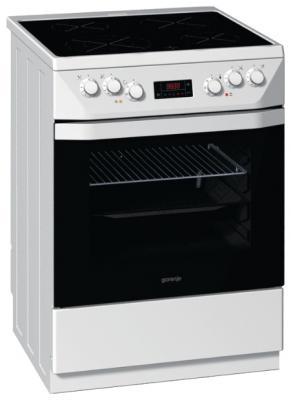Кухонная плита Gorenje EC63398BW - вид спереди