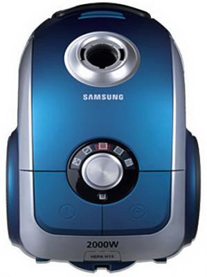 Пылесос Samsung SC6240 (VCC6240V3B/XEV) - вид спереди