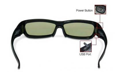 Очки 3D Samsung SSG-2200AR - общий вид